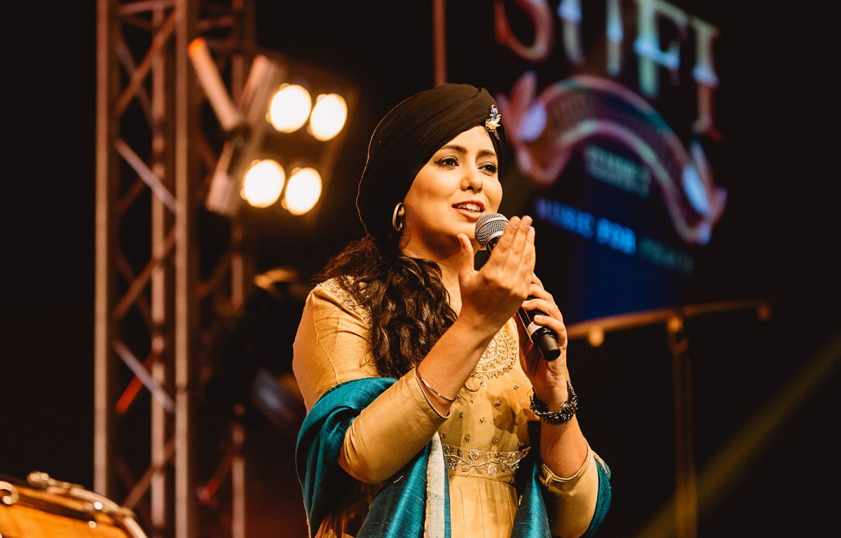 Bollywood and Punjabi singer Harshdeep Kaur and husband Mankeet Singh have welcomed a baby boy, the singer announced on Wednesday.