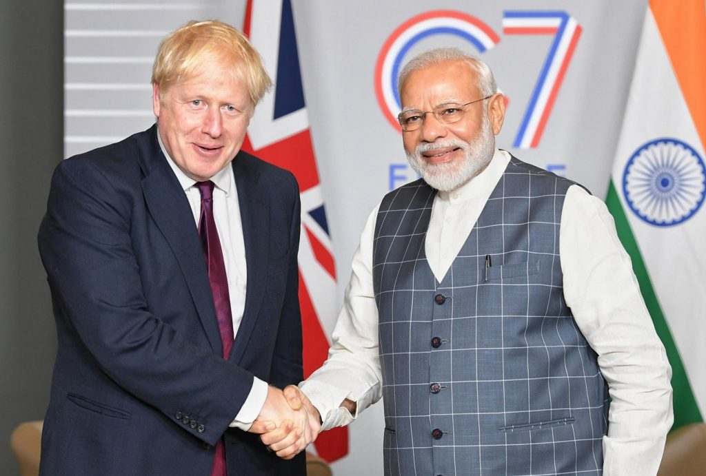 UK invites PM Modi for G7 summit